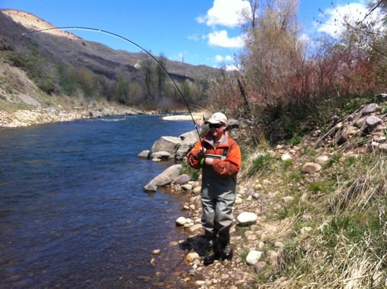 Utah Pro Fly Fishing Tours: First fish
