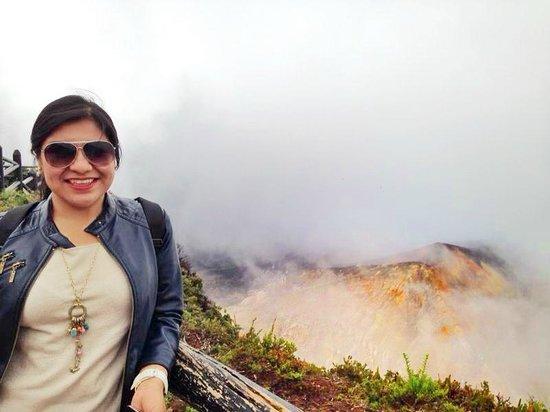 Poas Volcano: Impresionada por el Volcán