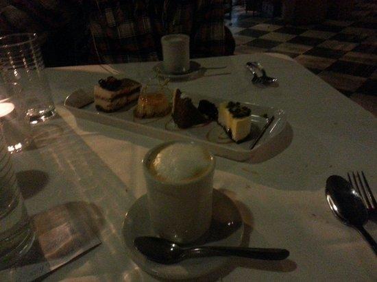 Museo Evita Restaurant & Bar: Degustacion de postre. EXQUISITO