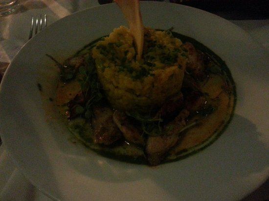Museo Evita Restaurant & Bar : Risotto con pulpo