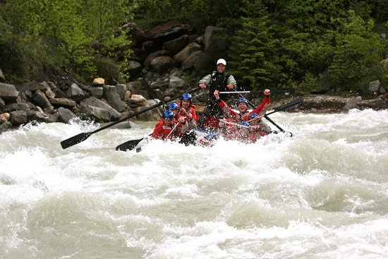 Alpine Rafting: Good, good fun !!!