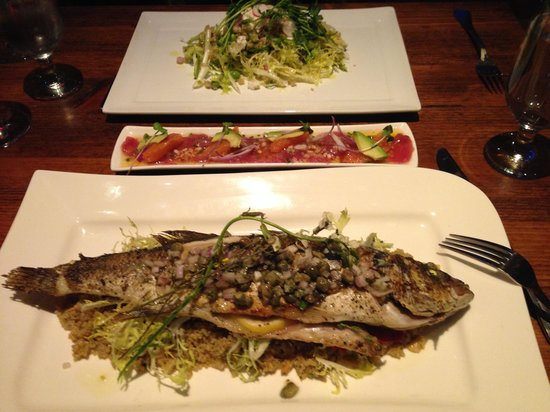 Villa Creek Bar & Grill : Branzino