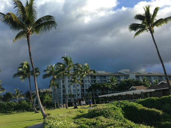 Honua Kai Resort & Spa: Storm approaching