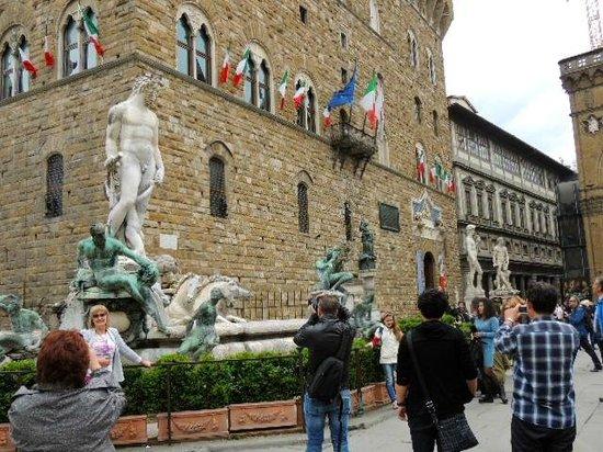 Piazza della Signoria : さすがです!