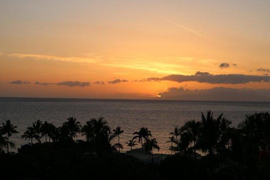 Fairmont Kea Lani, Maui : Coucher de soleil