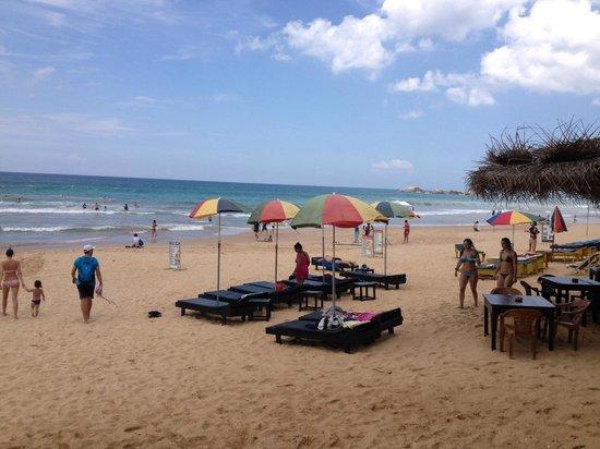 Villa Paradise Hikkaduwa: Beach