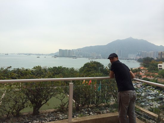 Hong Kong Gold Coast Hotel : A view from 6th floor