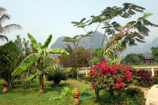 La Verandah Restaurant: Part of the gardens