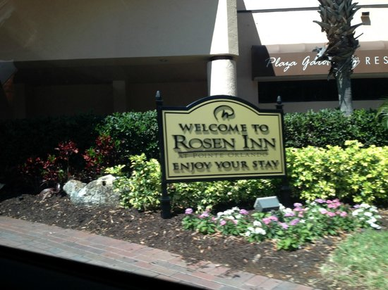 Rosen Inn International: placa