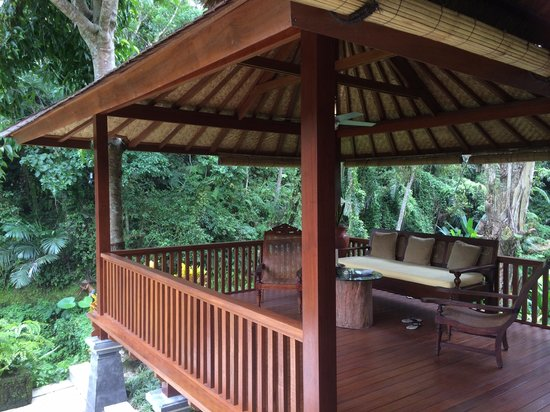 Villa Semana: The charming pavillion of Villa Cempaka nestled in the forest