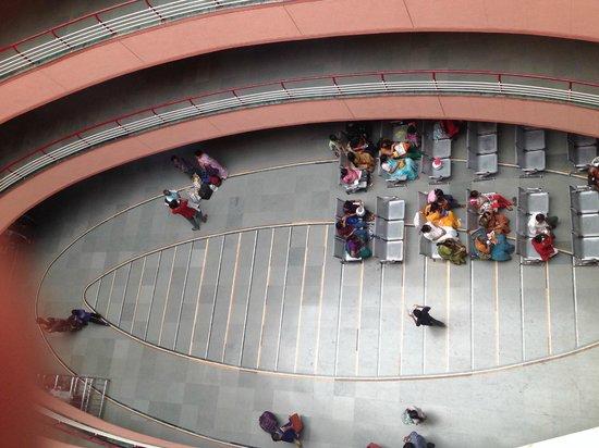 Dwarawati Bhaktiniwas: Top view from room