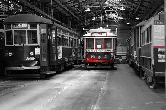 Bendigo Tramways: Tramway Depot Workshop