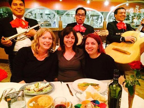 my friends and i at mexican festival restaurant picture of mexican
