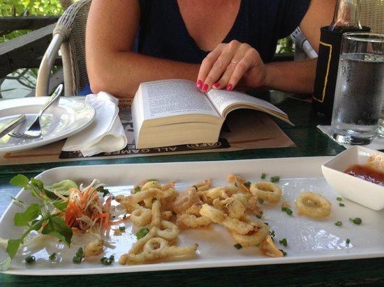 Meads Beach Bar & Grill : Crispy squid