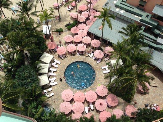 The Royal Hawaiian, a Luxury Collection Resort : 小さなプール