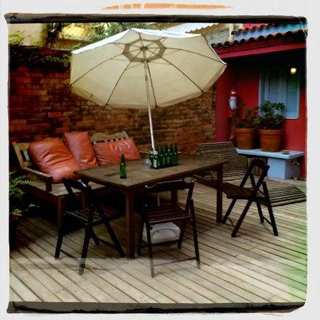 Bonita Ipanema Pousada & Hostel: Outside Area