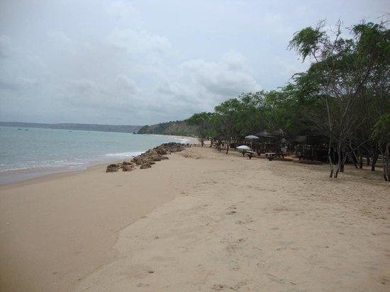 Cabo Ledo: Playa