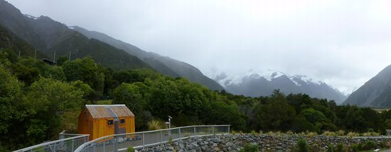 Aoraki/Mount Cook National Park DOC Visitor Centre: Walkway