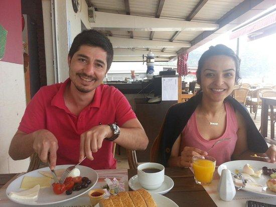 Palmiye Beach Hotel: Kahvalti keyfi