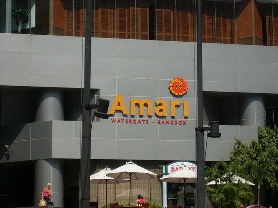 Amari Watergate Bangkok : вид на отель