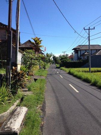 Junjungan Suite Villa: Le quartier