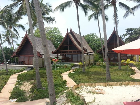 Kupu Kupu Phangan Beach Villas and Spa : Beach Front Pool Villa