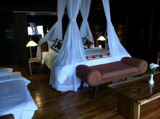Kupu Kupu Phangan Beach Villas and Spa by l'Occitane: La chambre - Beach Front Pool Villa - n°15