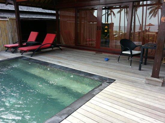 Kupu Kupu Phangan Beach Villas and Spa by l'Occitane: Notre piscine privée