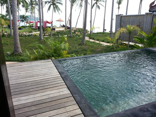 Kupu Kupu Phangan Beach Villas and Spa by l'Occitane: Notre piscine privée