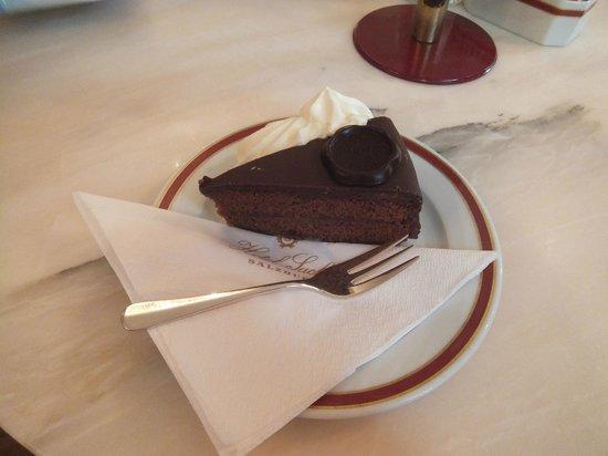 Café Sacher Salzburg: sachertorte