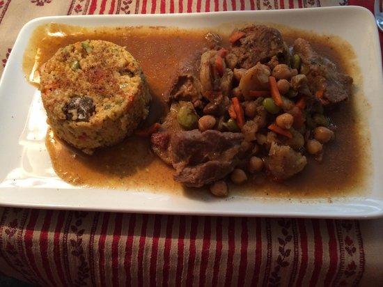 Le Péché Gourmand: Кус-кус с овощами и говядиной