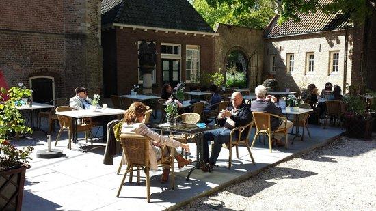 Museum Gouda : Terras Museum cafe