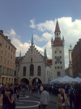 Marienplatz: Altes Rathaus