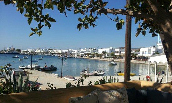 Artemis Hotel: Utsikt fra frokostplassen