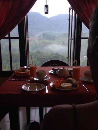Rock View Motel: Breakfast