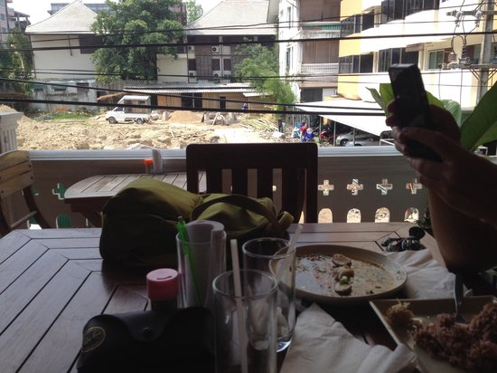 Anchan Vegetarian Restaurant: Food and site