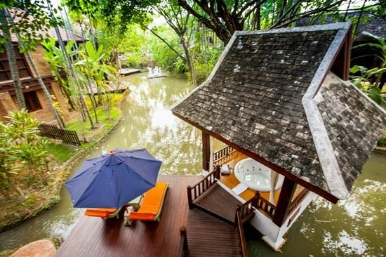 The Dhara Dhevi Chiang Mai : Stunning jacuzzi