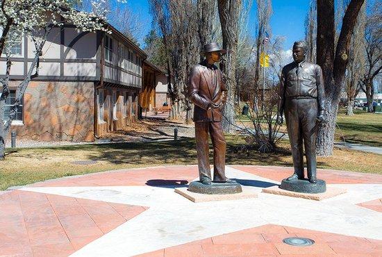 Los Alamos Historical Museum: Dr. J. Robert Oppenheimer & General Leslie R. Groves