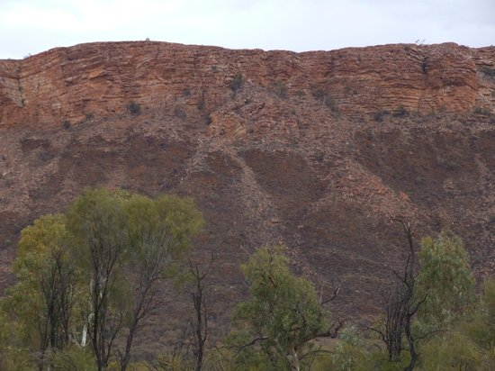 MacDonnell Ranges: the ranges