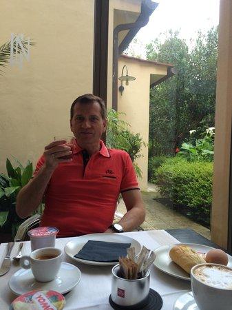 Hotel Novecento : На завтраке