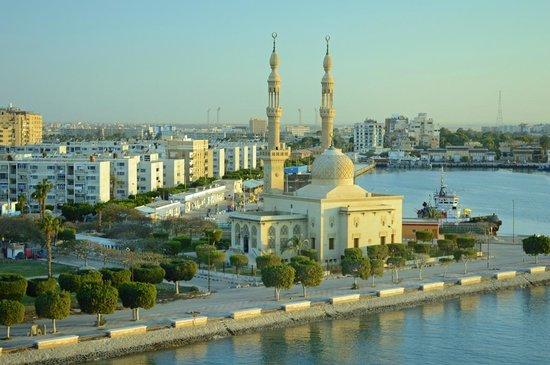 Suez Canal: la ville de Suez