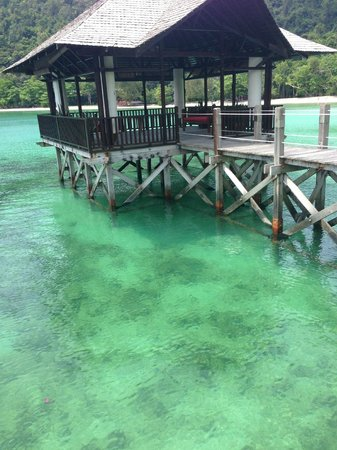 Bunga Raya Island Resort & Spa: good for snorkeling