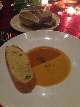 Bunga Raya Island Resort & Spa: carrot soup