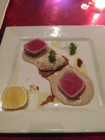 Bunga Raya Island Resort & Spa: Tuna with tomato