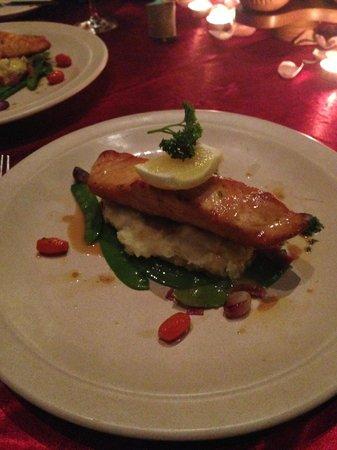 Bunga Raya Island Resort & Spa: Salmon fish