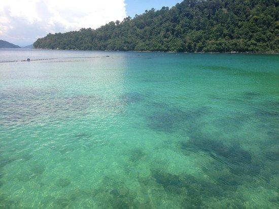 Bunga Raya Island Resort & Spa: good for snorkeling