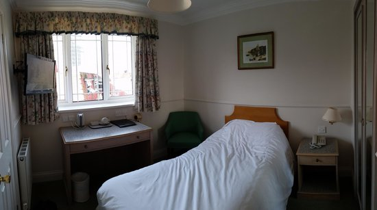 Best Western Montague Hotel: Room 25 - single
