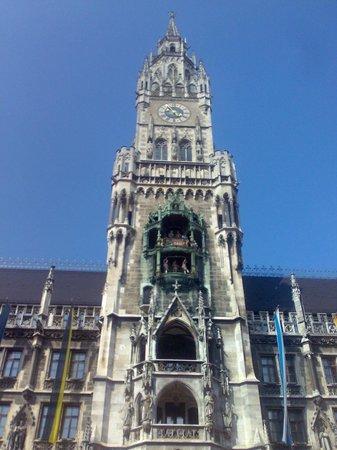 Neues Rathaus: Glockenspiel