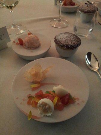 Schauenstein Schloss Restaurant Hotel: Le dessert