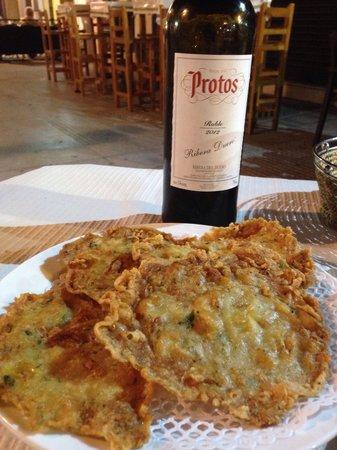 EL Marinero: Tortillitas de camarones